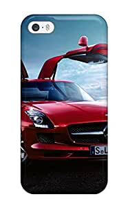 Protection Case For Iphone 5/5s / Case Cover For Iphone(mercedes Sls Amg)(3D PC Soft Case)