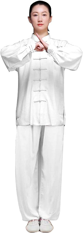 TALLA 3XL. KIKIGOAL Ropa De Taijiquan Práctica, Ropa De Tai Chi, Sub-Algodón y Lino Vestido De Artes Marciales De Viento Chino, Disfraz De Estilo Chino