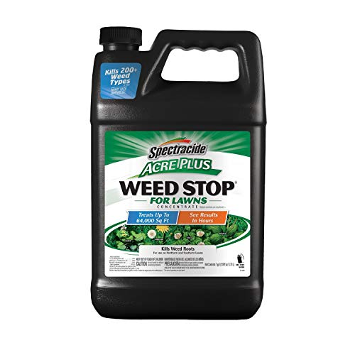 Spectracide HG-96632 Acer Plus Weed Stop for Lawns Concentrate 1-Gallon, Yellow