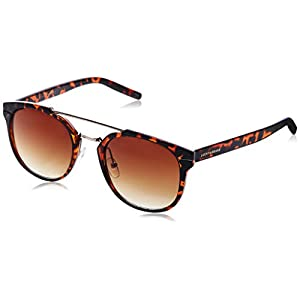 Lucky Mntator52 Round Sunglasses, Tortoise, 52 mm