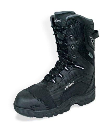 Voyager Snowmobile Boots - HMK Voyager Men's Boots (Black, Size 8)