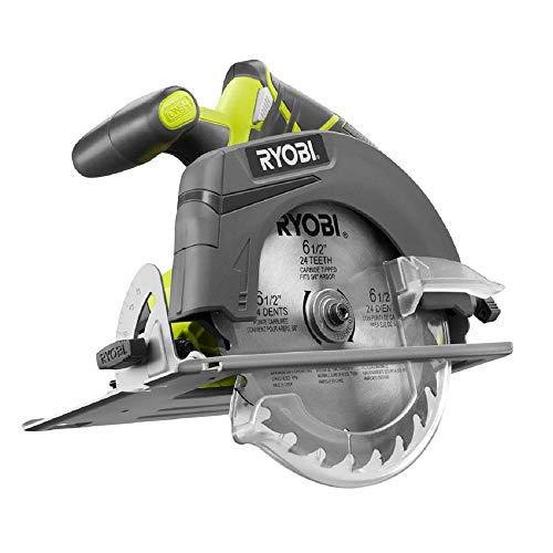 Ryobi ZRP507 ONE Plus 18V Cordless Circular Saw (Bare Tool) (Renewed)