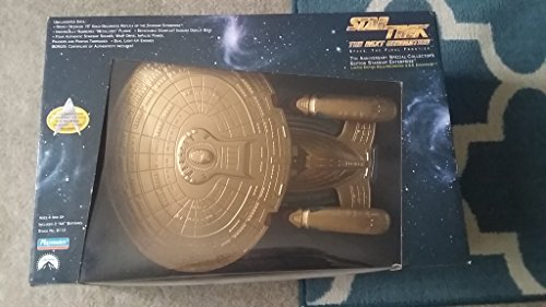 Star Trek Gold Starship Uss Enterprise Next Generation