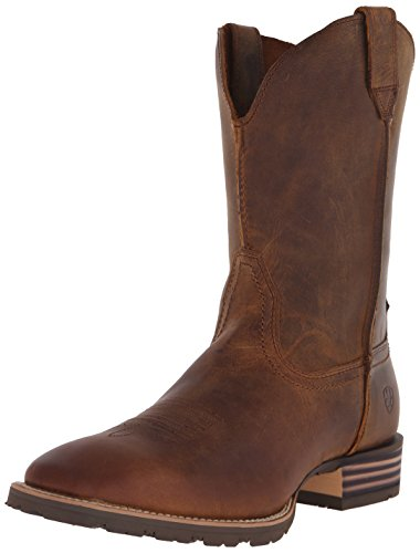 Ariat Men's Hybrid Street Side Western Cowboy Boot,Powder Brown,10.5 2E US