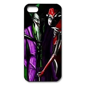 Joker Harley Quinn Hard Case Snap On Iphone 5/5S Case ,Best Apple Case ,Harley Quinn Iphone Case