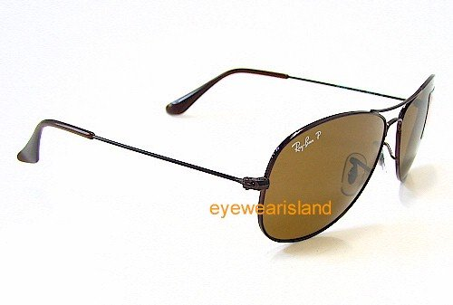 5cca2546c2 RAY-BAN RAYBAN RB 3362 Cockpit Brown 014 57 Polarized Sunglasses   Amazon.co.uk  Clothing
