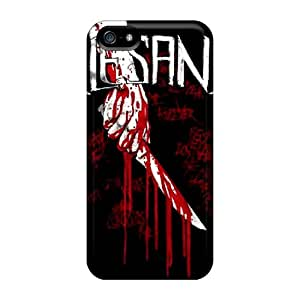 Excellent Cell-phone Hard Cover For Iphone 5/5s With Support Your Personal Customized Trendy Alesana Pattern DrawsBriscoe