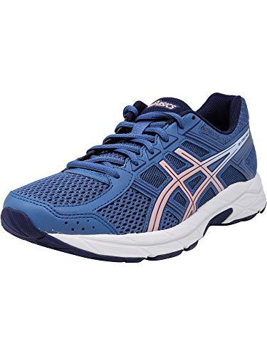 Gel corda media contend a misura e Asics 9 rosa smerigliato corsa 4 5 da Women scarpe bassa azzurro q8Wwx4w5B