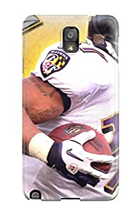 Hot Tpu Cover Case For Galaxy/ Note 3 Case Cover Skin - Ray Rice
