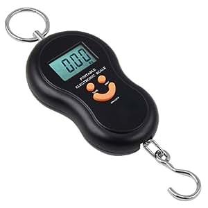 DIGIFLEX Báscula digital de mano para pesca, equipaje, maletas, paquetes, viaje 40 kg