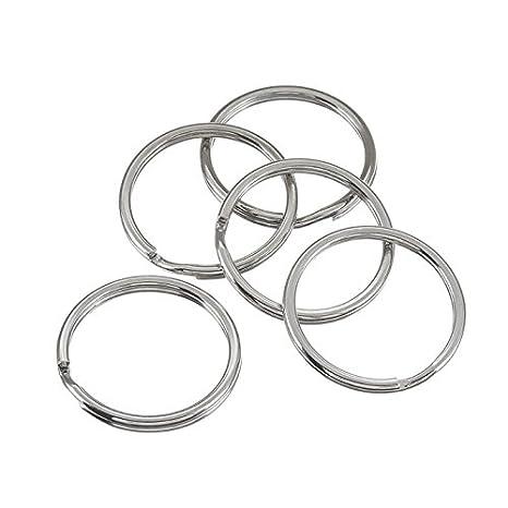 Tamaño grande (cuentas) de-anillos/con llavero 25 mm 5 ...