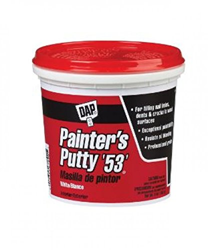 Dap 12242 Painters Putty Pt Raw Building Material, Pint, White (Polyfill Material)