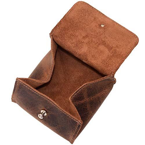 (Hide & Drink, Leather Jewelry Pouch/Case/Rings/Organizer/Cash/Wallet, Handmade Includes 101 Year Warranty :: Bourbon)