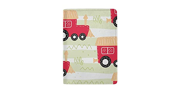 Passport Cover Set Childrens Favorite Toy Bike Stylish Pu Leather Travel Accessories Passport Cover Case For Women Men