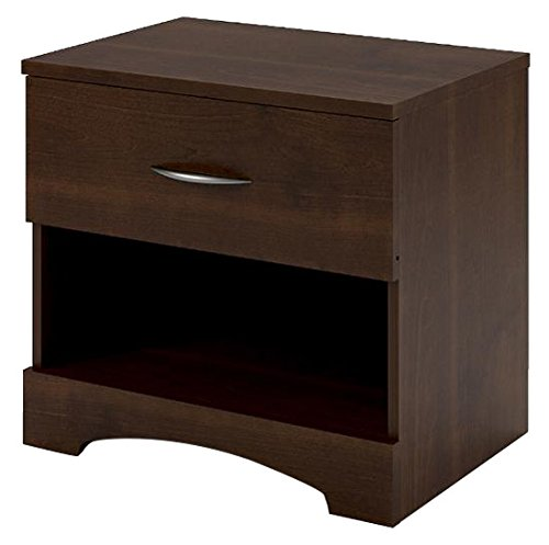 Ameriwood Home Crescent Point Nightstand, - Glasses Reading Pictures