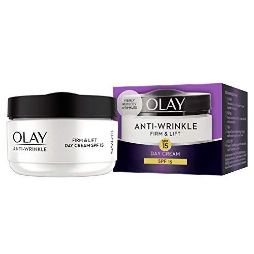 Olay Anti-Wrinkle Firm and Lift  SPF 15 Anti-Ageing Day Cream Moisturiser, 50 ml