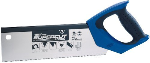 Draper Expert Supercut 49280 300 mm 11 TPI/12 PPI Fine-Cut Soft-Grip Hardpoint Tenon Saw by - Fine Cut Tenon
