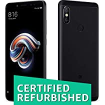 Certified REFURBISHED Redmi Note 5 Pro Black