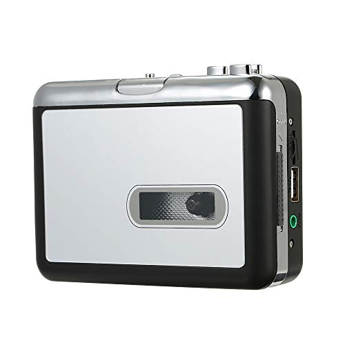 Cassette to MP3 Converter Tape to Music Player Digital Audio Recorder Convert to MP3 Save into USB Flash Drive with USB Cable