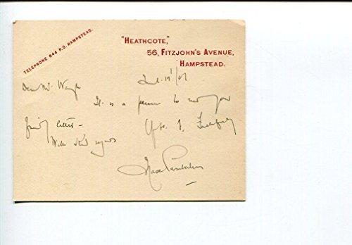 Sir Max Pemberton British Novelist Mystery Adventure Author Signed Aut
