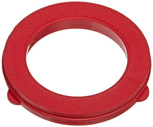 Vinyl Hose Washer - Dixon Valve & Coupling TVW7 Red Vinyl Tuff-Lite Washer for Garden Hose Fitting (Pack of 100)