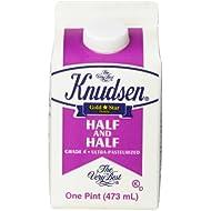 Knudsen, Half & Half, Pint