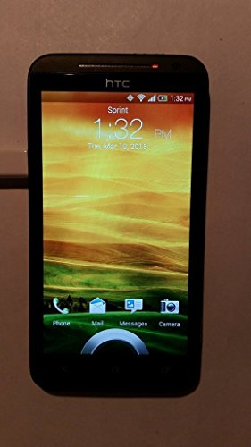 HTC Evo 4G LTE 16GB Sprint CDMA Dual-Core Android Smartphone w/ Beats Audio Sound and Built-in kickstand - Black