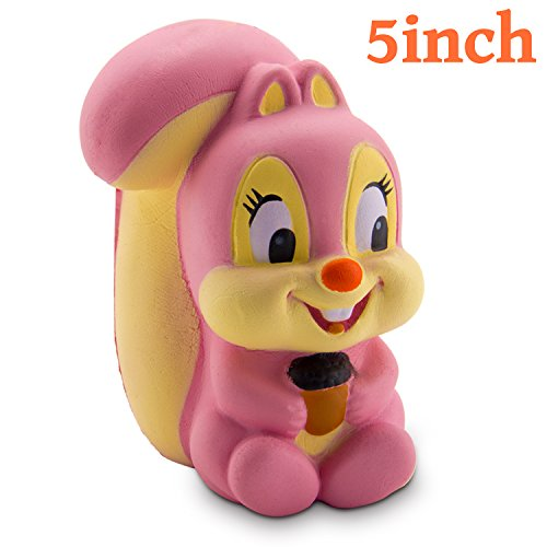 WATINC 1Pcs Animal Squishies, Kawaii Cream Scented Slow Risi