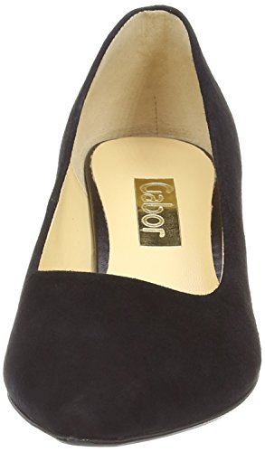 Gabor Arnica, Women's Court Shoes Black Suede