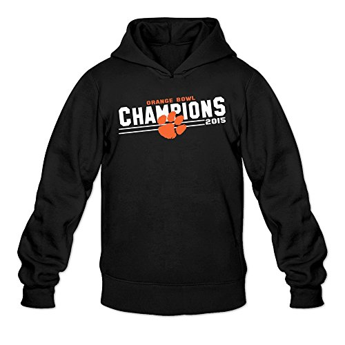 Men's Clemson Tigers Orange Bowl Champions Hoodie Black