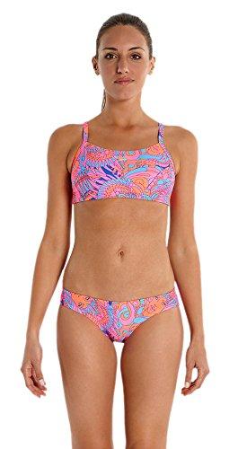 Speedo Samba Tabrella Allover 2Piece Rippleback–Bikini para mujer