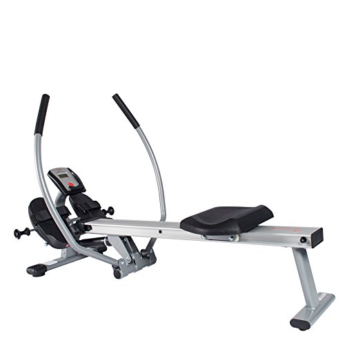 Sunny Health & Fitness Full Motion Rowing Machine with High Weight...