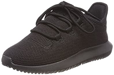 adidas Boys' Tubular Shadow Shoes, Core Black/Footwear White/Core Black, 1 US (1 AU)