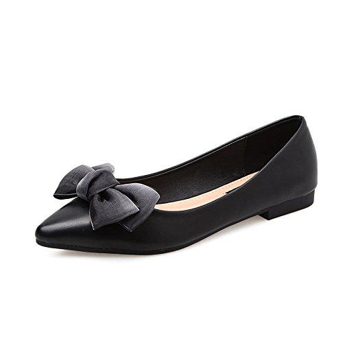 De Mujer Señaló En Zapatos Bajo Y De Versátil Con De Planos Zapatos GAOLIM Chato Luz Mujer Mujer Negro Zapatos De Zapatos Y R8FxgRq