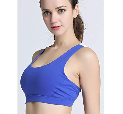 Yoga Seasons Simple Acero Deportivo Fitness Para Imzoeyff El De l Correa Bra Four Elegante Hombro Sujetador Cómoda Azul Anillo Y Ropa Interior Sin R88n6q7Z