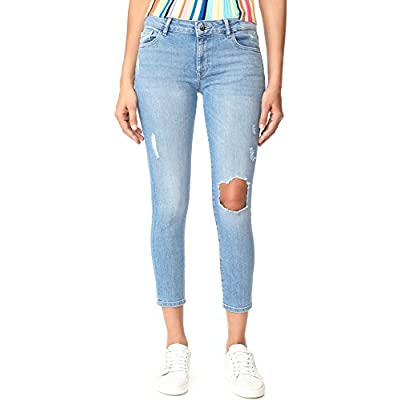 DL1961 Women's Florence Cropped Skinny Jeans: Clothing