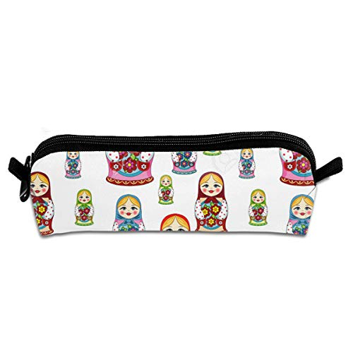 Louis Woodrow Russian Matryoshka Doll Pattern Boys' School Storage Bag for Campus ()