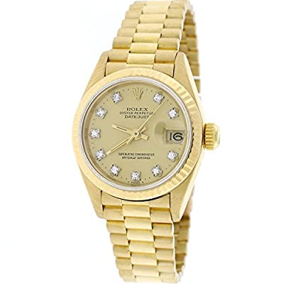 Rolex Datejust automatic-self-wind womens Watch 69178 (Certified Pre-owned) by Rolex
