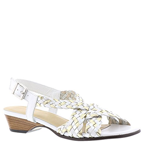 David Tate Dolce Sandale Femme Blanc-multi. chaussures ...