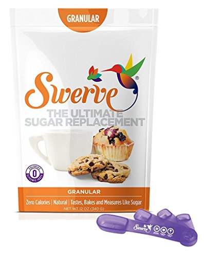 Swerve Granular Sweetener 12 Ounce + Measuring Spoons: The Ultimate Sugar (Artificial Sweetener)