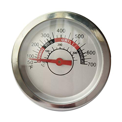 Barbecue Grill Thermometer Temperature Gauge Heat Indicator Replacement for  Charbroil, Master Forge 1010037, 1010048, Nexgrill 720-0864, Jenn-Air