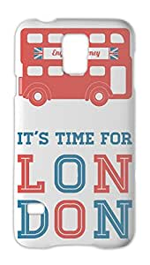 It's Time For London Samsung Galaxy S5 Plastic Case