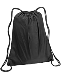 8882 Large Nylon Drawstring Backpack