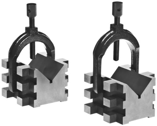 Brown & Sharpe 750-2 4 Piece V Block and Clamp Pair for sale  Delivered anywhere in USA