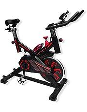 UrbanFit Pro Bicicleta Spinning Uso Rudo 18 Kilos Banda Profesional con agarres de frecuencia