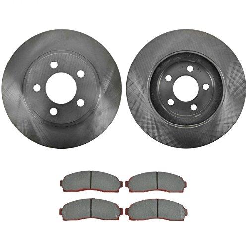 - Front Premium Posi Ceramic Disc Brake Pad & Rotor Kit for Ford Mazda Four Wheel Drive Models Only