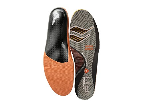 Sole Arch Support - Sof Sole Men's High Arch, Grey, Women's 13-14/Men's 11-12