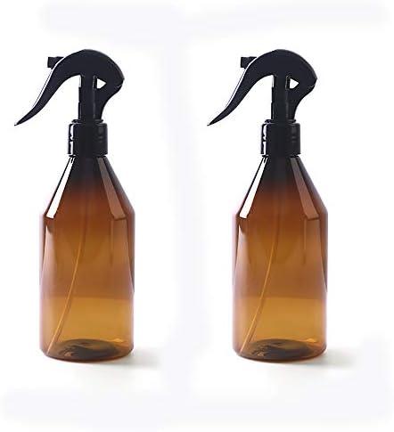 TOMYEER 300 ml lege spuitfles navulbare sproeier lekbestendig duurzame flessen triggerspuit voor lichaam haar gezicht kamer pak van 2