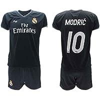 Conjunto 2ª Equipación Fútbol Luka Modric 10 Real