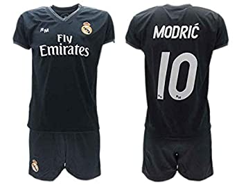 pretty nice 823d8 b5ec6 AWAY KIT Complete Soccer Football LUKA MODRIC 10 Real Madrid ...